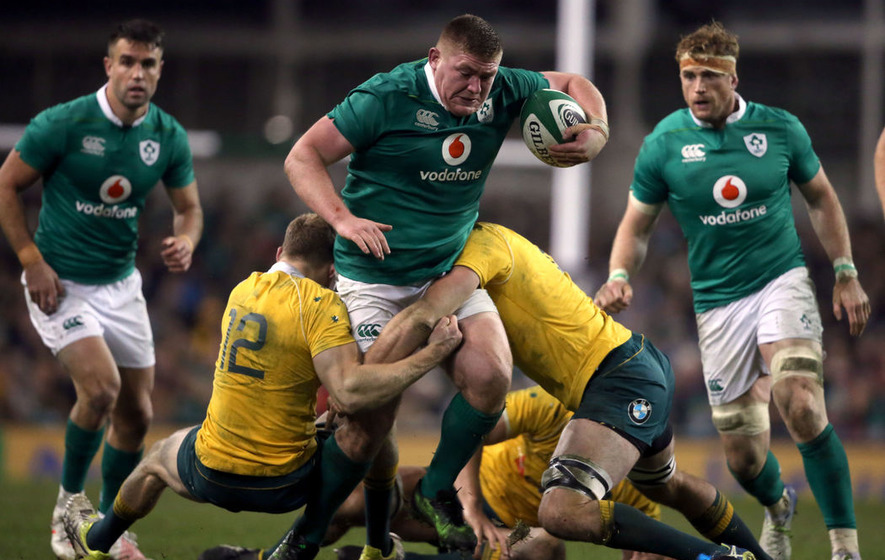 Furlong toes party line on destroying England's Grand Slam