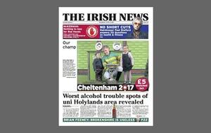 Holylands: PSNI sends schools St Patrick's Day warning letter