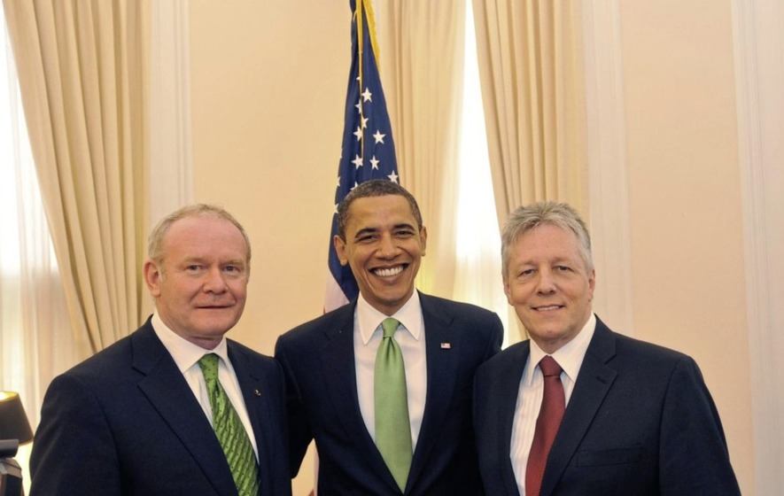 Just a handful of northern politicians join St Patrick's Day celebrations in Washington