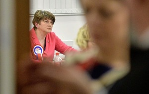 Arlene Foster's private room not approved by election officials