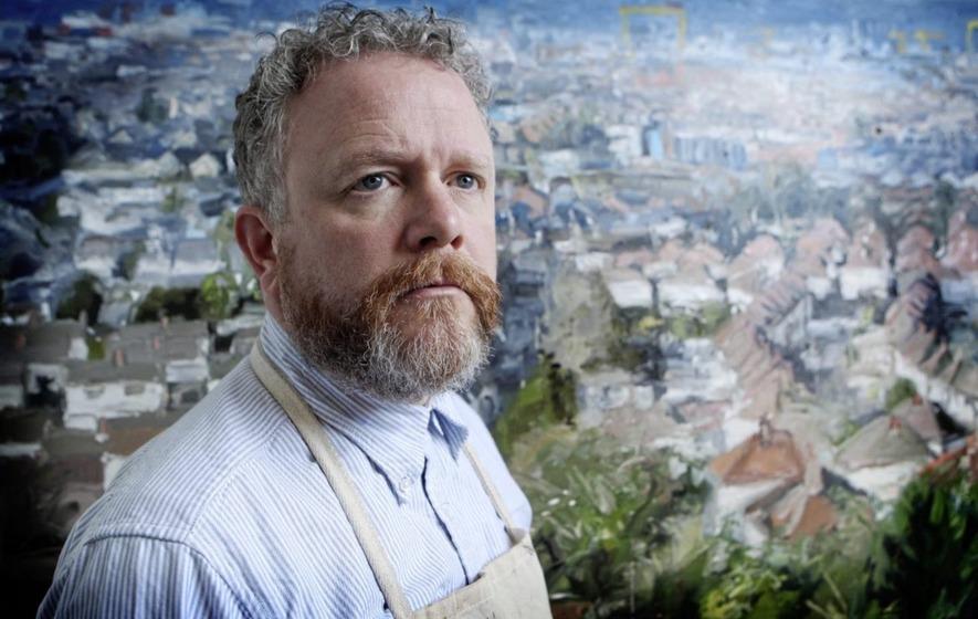 Painter Colin Davidson's journey from Belfast to Jerusalem