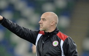 Legend Georgie McMullan hired to lift Cliftonville out of the doldrums