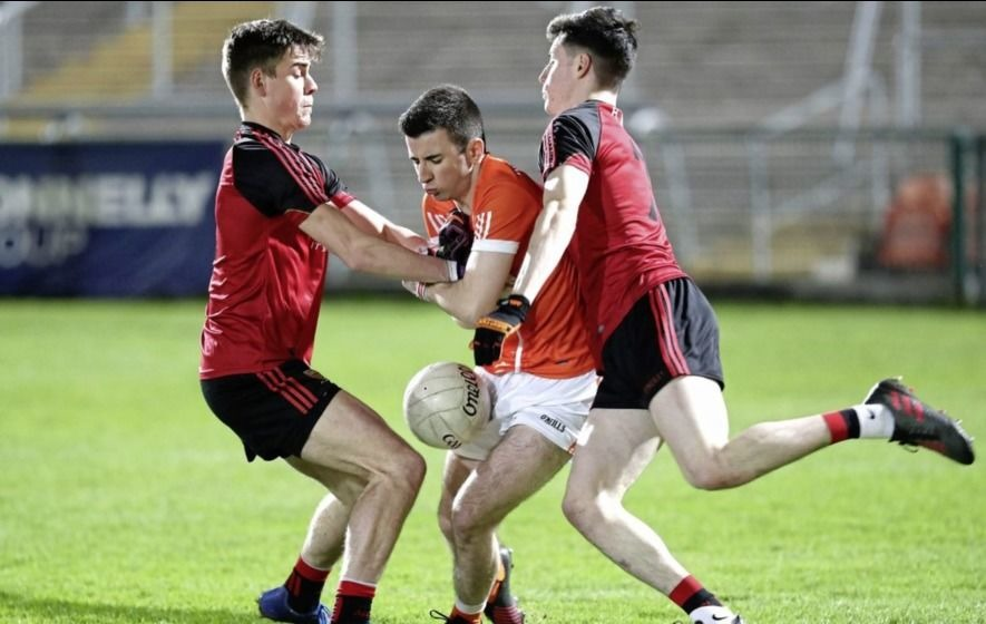 Video: Ulster U21 Championship Armagh v Down EirGrid man of the match Shea Loye