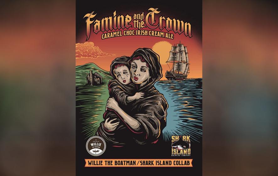 Apology over 'bad taste' Famine beer