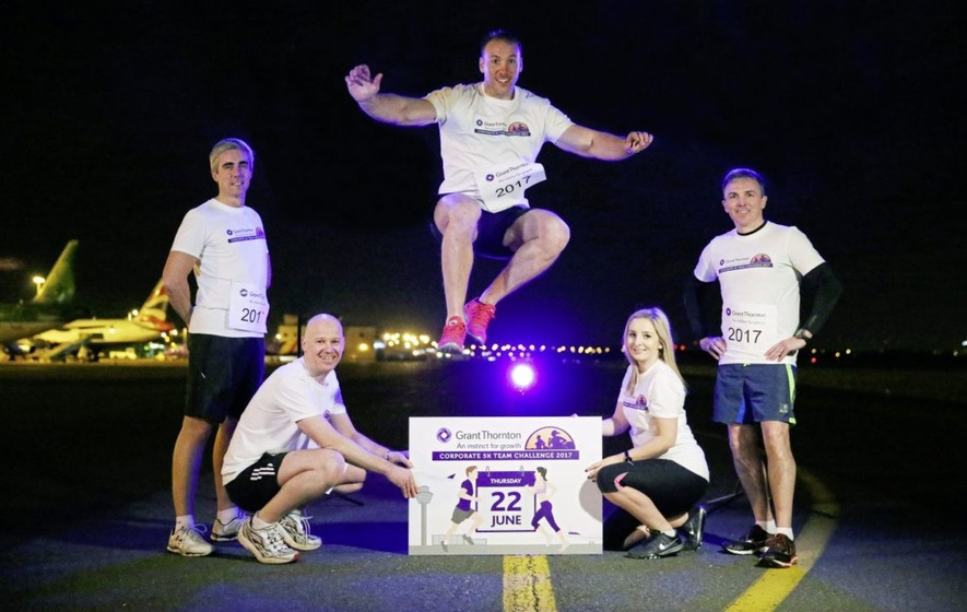 Businesses urged to 'line out' for third year of Grant Thornton Runway Run