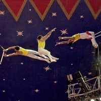 We're all trapeze artists in the Big Top of life