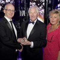 Leading magazine publisher James Greer honoured for charitable work