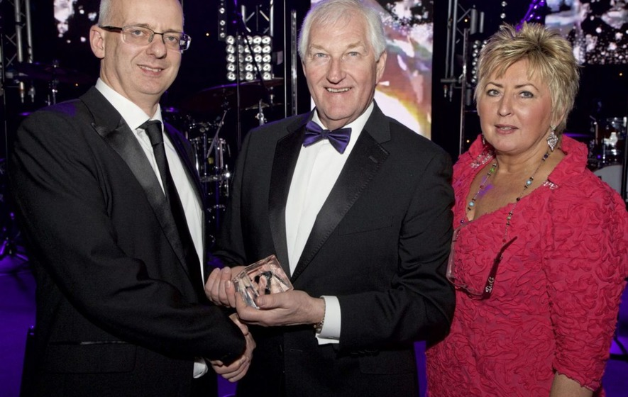 Leading magazine publisher James Greer honoured for charitable work