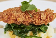 This southern fried chicken has been grown from animal cells in a lab