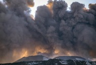 Watch the terrifying moment a BBC crew is caught up in Mount Etna volcano blast