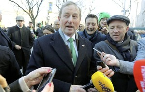 Enda Kenny and Theresa May 'rule out return to direct rule in NI'