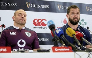 Andy Farrell is 'too professional' to let family ties interfere with Ireland role