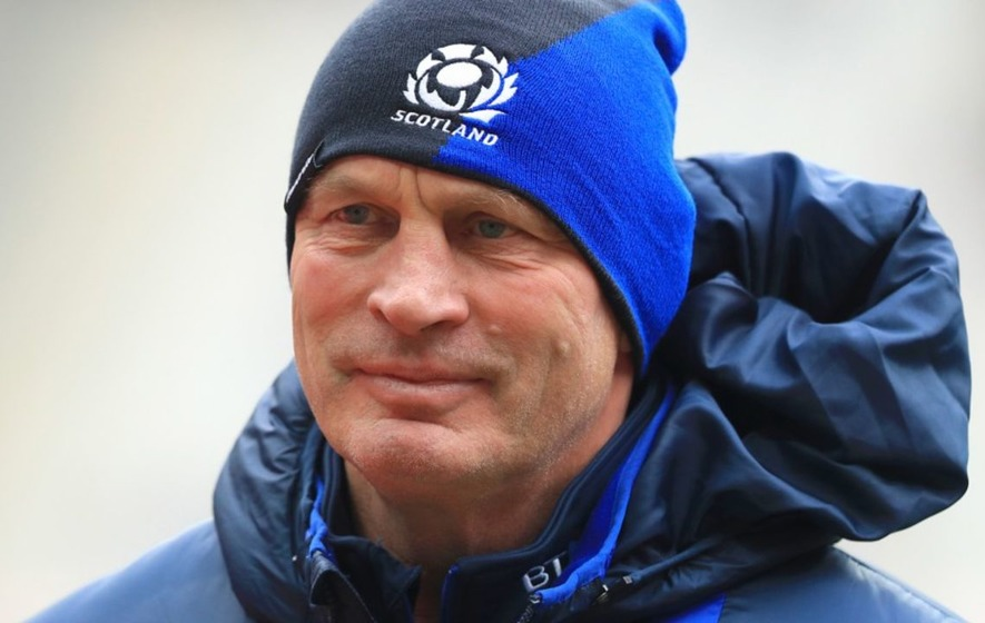 It was Vern Cotter's last day as Scotland coach and things got very emotional