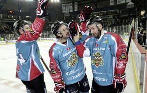 Belfast Giants title hopes ended despite victory over Coventry Blaze