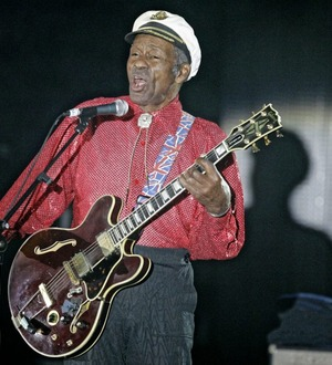 Rolling Stones lead tributes to father of rock 'n' roll Chuck Berry