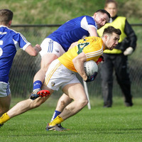 Laois slip proves costly as Antrim hold out for GAA League victory at Corrigan Park