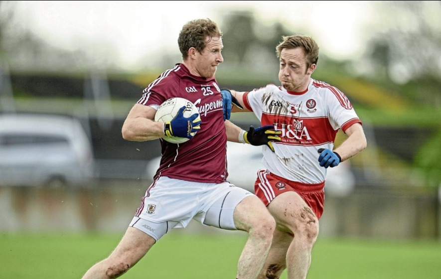 Five-goal Galway leave Derry rooted to bottom of Division Two