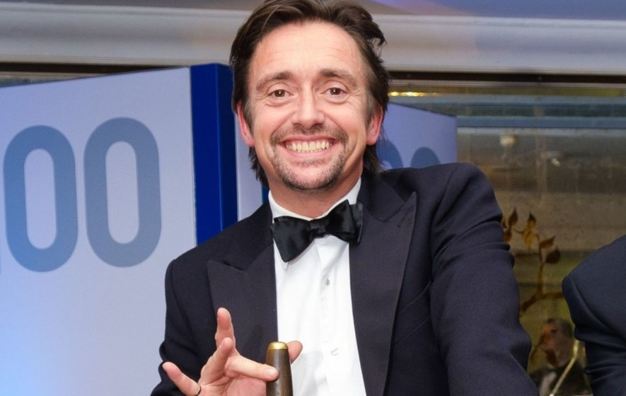 Richard Hammond says he is 'fine' after falling off motorbike 'many times'