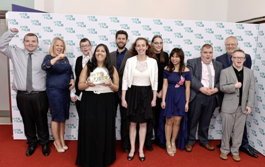 Mencap young people make award-winning film featuring Belfast teenager