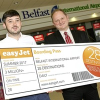 EasyJet adds 155,000 extra summer seats from Belfast