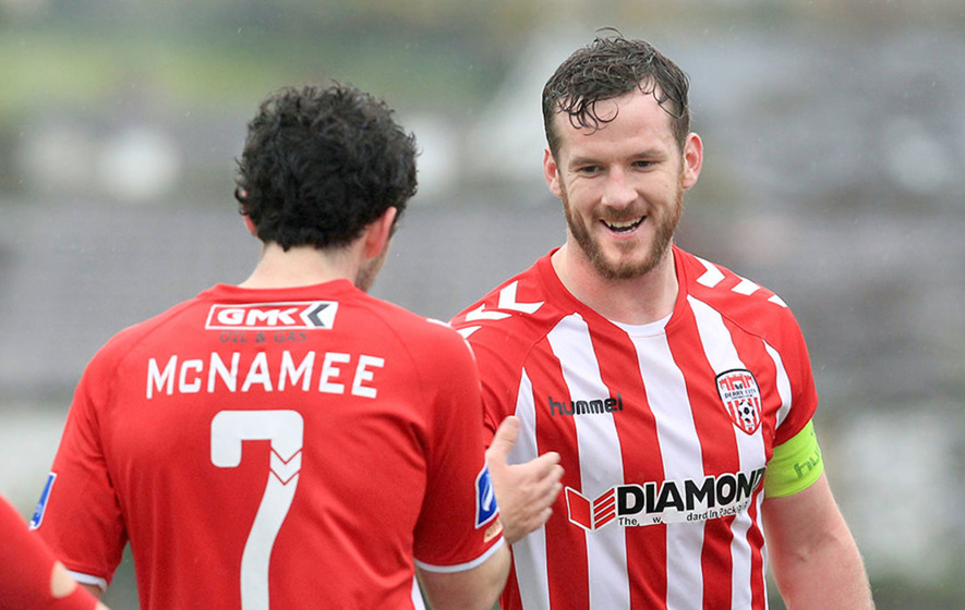 Derry City FC captain Ryan McBride (27) praised as 'inspiration'