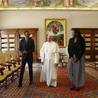Pope Francis begs forgiveness for Church's role in Rwandan genocide