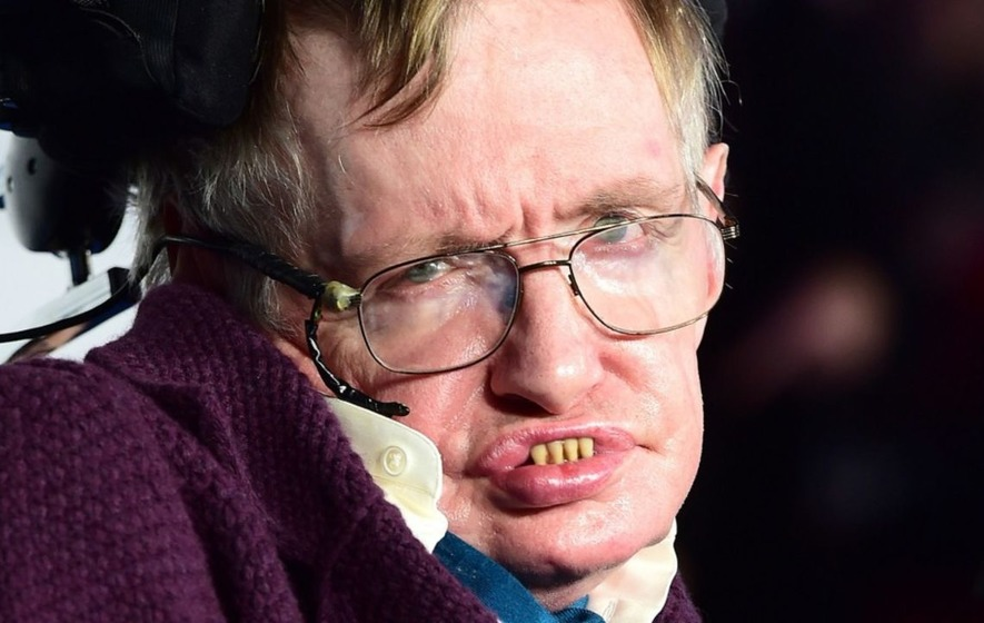 Stephen Hawking is casually planning a trip to space on Sir Richard Branson's spaceship