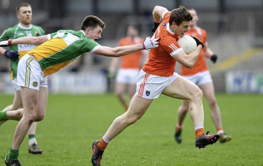 Charlie Vernon loving it when Armagh keep it simple