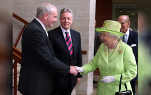Queen to send private message to Martin McGuinness' widow