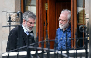 Gerry Adams leads Sinn Féin tributes to Martin McGuinness