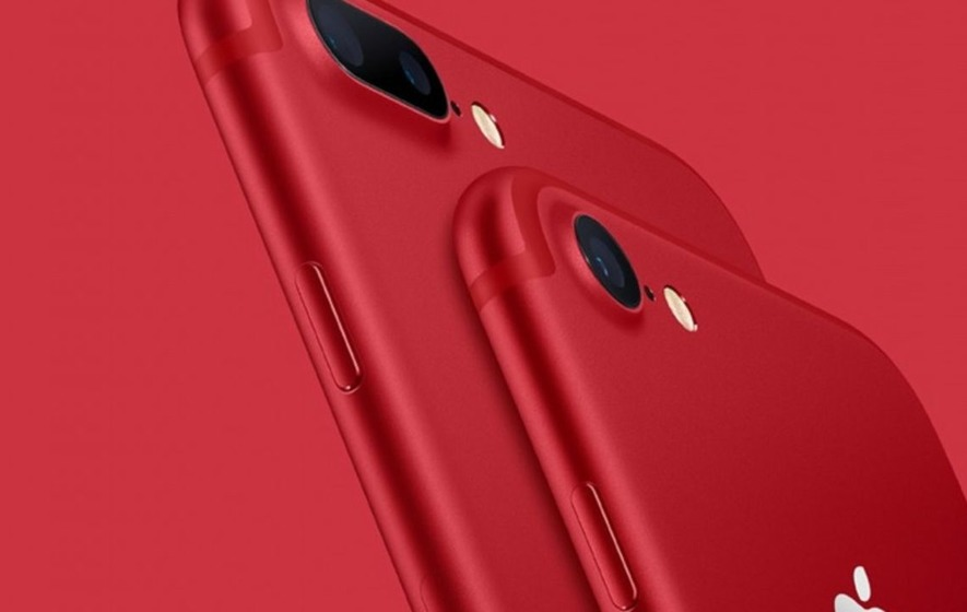 Apple unveils the first red iPhone and a new iPad