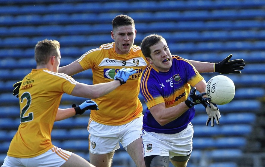 Antrim Midfielder Jack Dowling Feels Saffrons Can Beat Armagh The Irish News