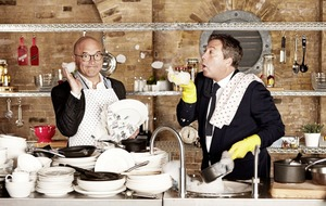 MasterChef's back, a perfect marriage of Gregg Wallace and John Torode