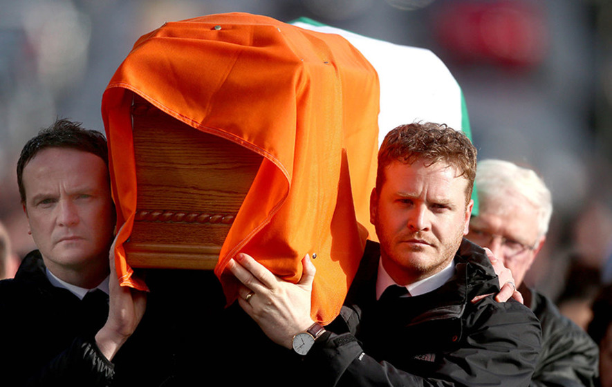 Martin McGuinness funeral: Fr Canny's liturgy and readings by family
