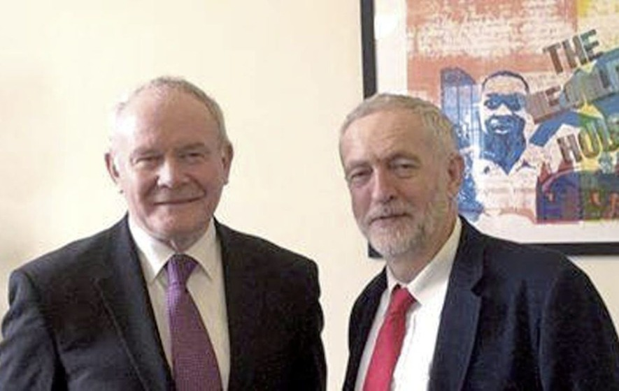 McGuinness played 'immeasurable role' in bringing about peace - Jeremy Corbyn