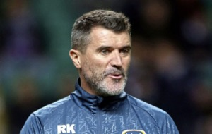 Ireland assistant Roy Keane advises girl footballer to `keep away from the boys'