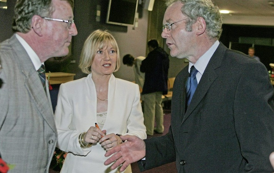 David Trimble wrote to Martin McGuinness before his death