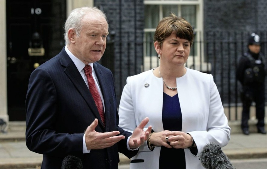 Unionists react to death of Martin McGuinness