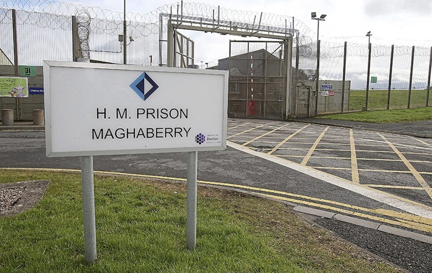 Prison officer (50) arrested over drugs in Maghaberry jail