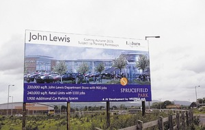 Further legal wrangling over proposed John Lewis store in Northern Ireland