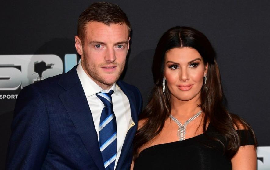 Footballer Jamie Vardy's wife reveals 'horrific' online abuse