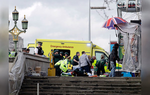 Four dead in Westminster attack which is 'being treated as terrorist incident'