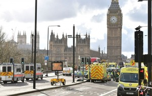 Police have issued a warning about sharing pictures of the Westminster attack on social media