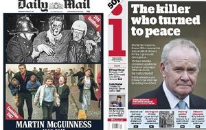 Death of Sinn Fein's Martin McGuinness makes headline around the world