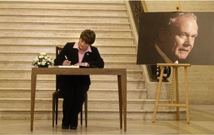 Arlene Foster to attend Martin McGuinness funeral