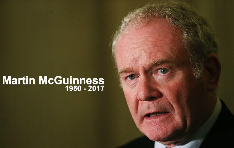 Martin McGuinness funeral: Arlene Foster arrives for ceremony