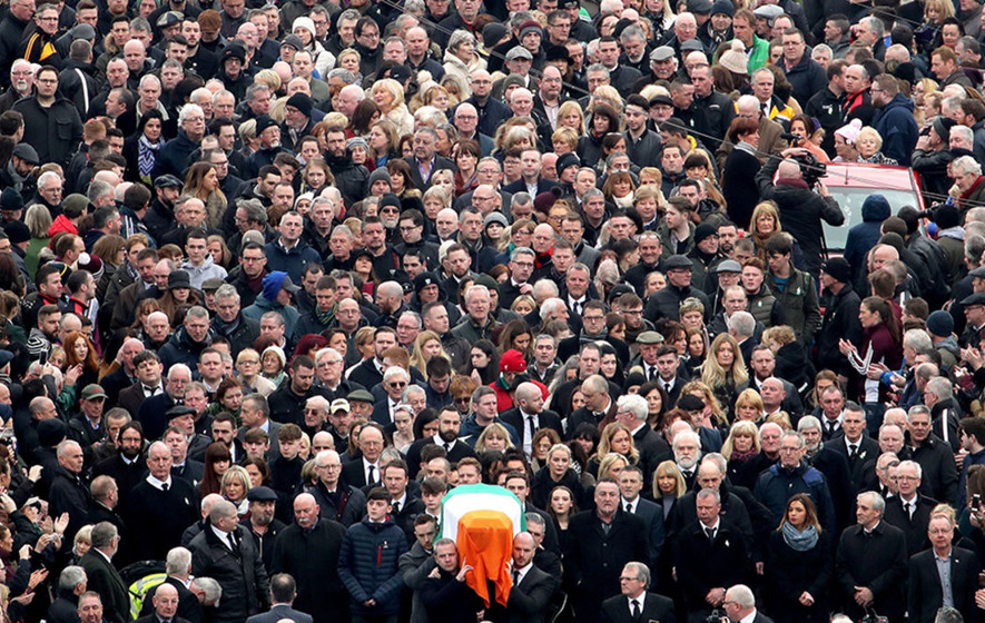 Live Video:  Martin McGuinness's funeral takes place