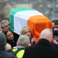 It ended for Martin McGuinness where it all began: back home in Derry