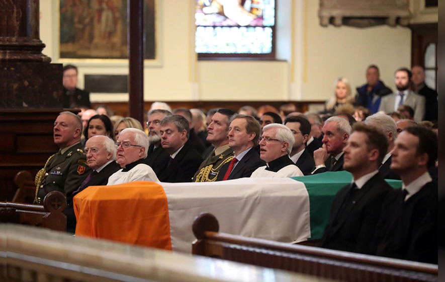 Martin McGuinness funeral: Fr Canny's homily and readings by