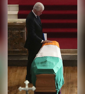 Video: Finish the peace building of Martin McGuinness, Bill Clinton urges political leaders